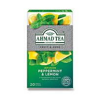 Bylinný čaj Ahmad Tea Máta s citronem