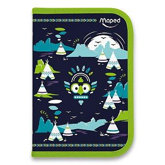 Obrázek produktu Penál Maped Tatoo - 1patrový, vybavený, motiv Totem