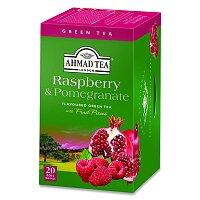 Zelený čaj Ahmad Tea Malina, granátové jablko