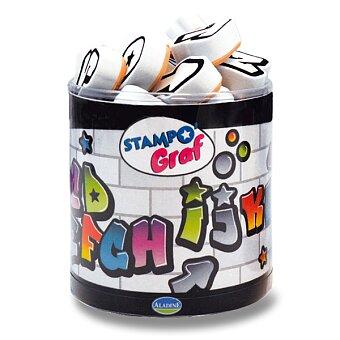 Obrázek produktu Razítka Stampo Fun - Graffiti abeceda