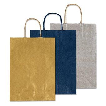 Obrázek produktu Malá papírová taška Allegra XS - 16 x 8 x 21 cm, výběr barev