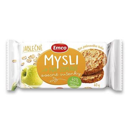 Obrázek produktu Emco - cereální sušenky - jablko-skořice, 60 g
