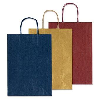 Obrázek produktu Střední papírová taška Allegra S - 22 x 11 x 27 cm, výběr barev