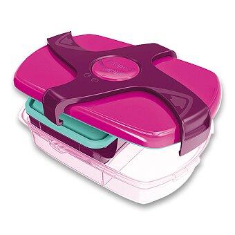 Obrázek produktu Velký svačinový box Maped Concept - růžový
