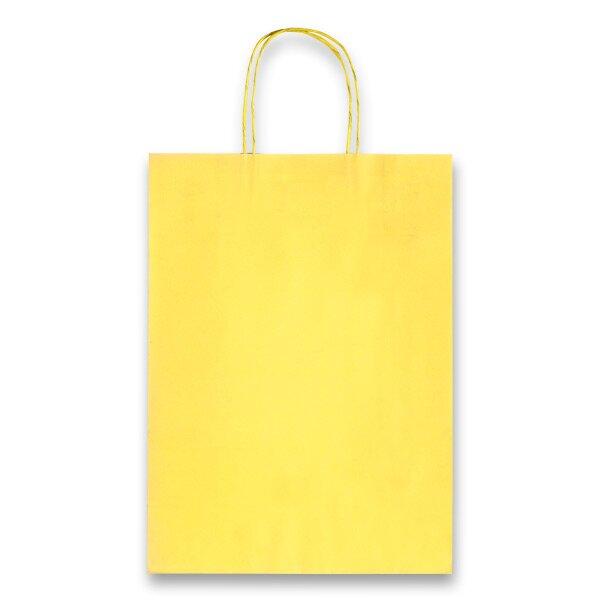 Dárková taška Allegra Light žlutá, L
