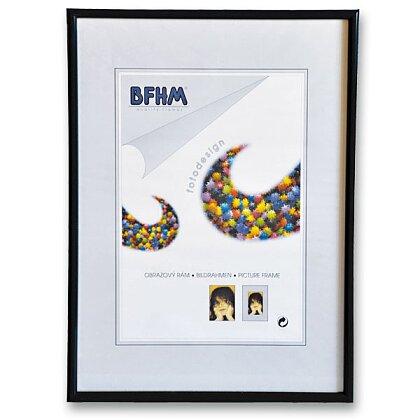 Obrázek produktu BFHM - plastový rám - A4, 21 × 29,7 cm, černá