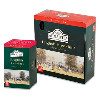 Obrázek produktu Černý čaj Ahmad Tea English Breakfast - výběr balení