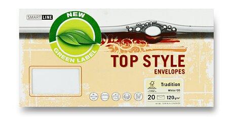 Obrázek produktu Obálka Top Style Envelopes Tradition - DL, 20 ks, Tradition, bílá