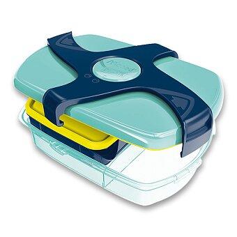 Obrázek produktu Velký svačinový box Maped Concept - modrý
