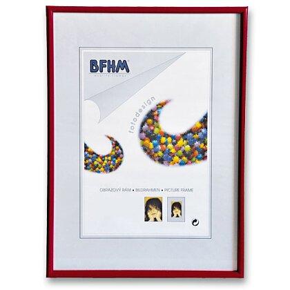 Obrázek produktu BFHM - plastový rám - A4, 21 × 29,7 cm, červená