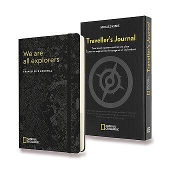 Obrázek produktu Zápisník Moleskine Passion Travel National Geographic - L, černý