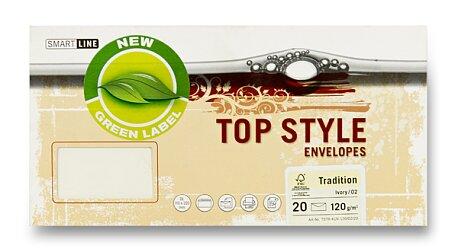 Obrázek produktu Obálka Top Style Envelopes Tradition - DL, 20 ks, Tradition, slon. kost