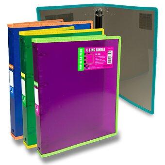 Obrázek produktu 4kroužkový pořadač FolderMate Pop Gear Plus - A4, výběr barev