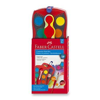 Obrázek produktu Vodové barvy Faber-Castell Connector - 24 barev, průměr 30 mm