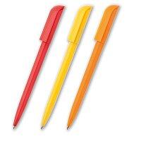 Rotate - plastová kuličková tužka, výběr barev