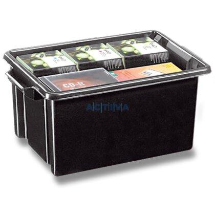 Obrázok produktu CEP Strata - úložný box - objem 48,5 l, 610 x 393 x 285 mm