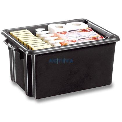 Obrázok produktu CEP Strata - úložný box - objem 32 l, 524 x 350 x 241 mm