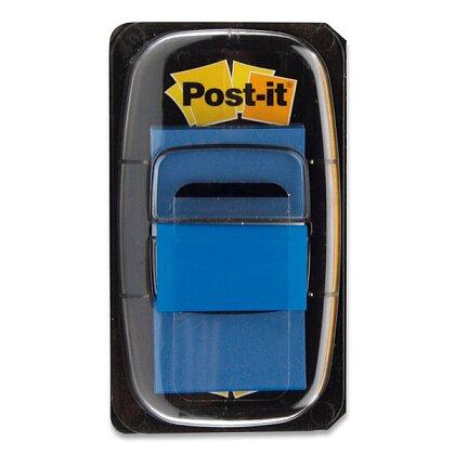 Obrázek produktu 3M Post-it - popisovatelná záložka - 25,4×43,2 mm, 50 ks, modrá