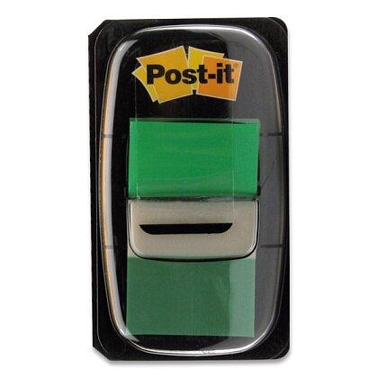 Obrázek produktu 3M Post-it - popisovatelná záložka - 25,4×43,2 mm, 50 ks, zelená