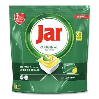 Obrázek produktu Kapsle do myčky Jar Original All in One - 80 kapslí