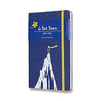 18měsíční diář Moleskine 2019-20 Le Petit Prince, tvrdé desky