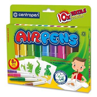 Obrázek produktu Foukací fixy Centropen 1539 na textil - 10 barev
