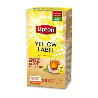 Obrázek produktu Černý čaj Lipton Yellow Label - 25 sáčků