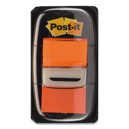 Obrázek produktu 3M Post-it - popisovatelná záložka - 25,4×43,2 mm, 50 ks, oranžová