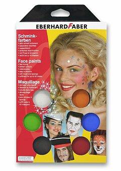 Obrázek produktu Obličejové barvy Eberhard Faber - Muzikál - 6 barev
