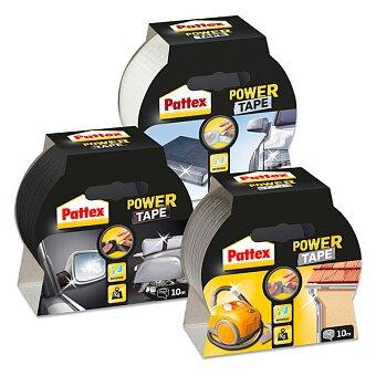 Obrázek produktu Třívrstvá samolepící páska Pattex Power Tape - šíře 50 mm, návin 10 m, výběr barev