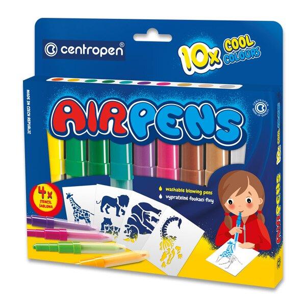 Foukací fixy Centropen 1500 10 barev