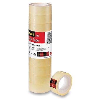 Obrázek produktu Samolepicí páska 3M Scotch 508 - šíře 15 mm, návin 10 m