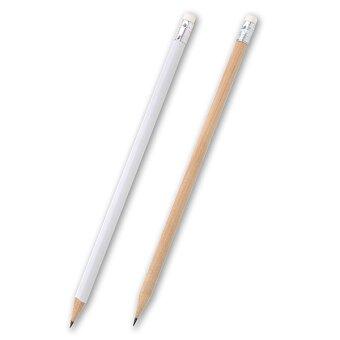 Obrázek produktu Lungo - obyčejná tužka s gumou, tvrdost HB, výběr barev - přírodní