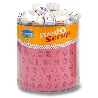 Obrázek produktu Razítka Stampo Scrap - Tři mini abecedy