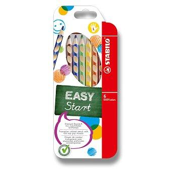 Obrázek produktu Pastelky Stabilo EASYcolors - 6 barev, pro leváky