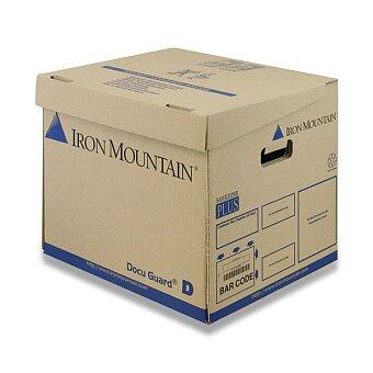 Obrázek produktu Archivační krabice na pořadače Docu guard Iron Mountain DG/D - 360 x 310 x 320 mm