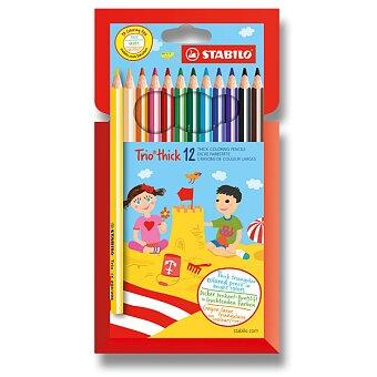 Obrázek produktu Pastelky Stabilo Trio - 12 barev