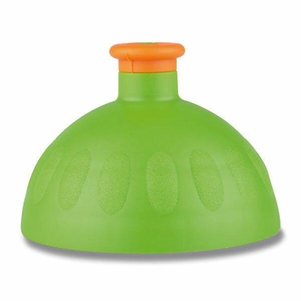 Kompletní víčko Zdravá lahev zelené/ oranžová zátka