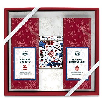 Obrázek produktu Vánoční sada čajů Oxalis s dózou - 2x 50 g + vánoční dóza
