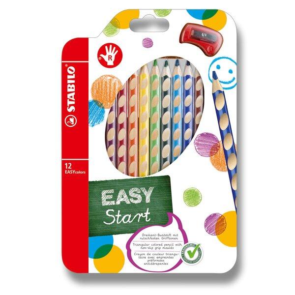 Pastelky Stabilo EASYcolors 12 barev, pro praváky Stabilo