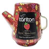 Sypaný černý čaj Tarlton Royal Strawberry