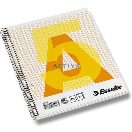 Obrázok produktu Esselte - krúžkový blok - A5, 70 l., štvorčekový