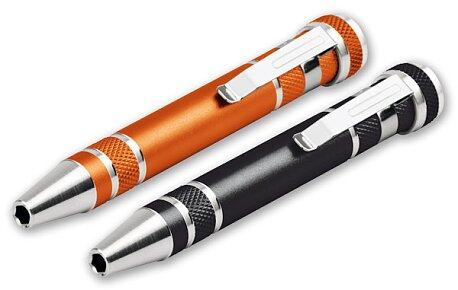 Obrázek produktu Monter - kovový šroubovák s nástavci, výběr barev
