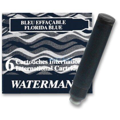 Obrázek produktu Waterman - inkoustové bombičky krátké - černé, 6 ks