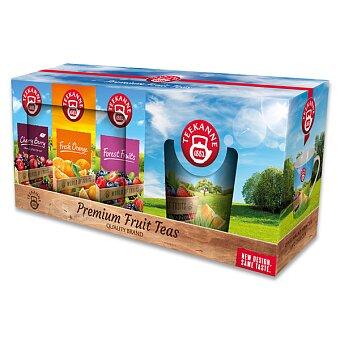 Obrázek produktu Sada ovocných čajů s hrnkem Teekanne OnPack - 3 x 20 sáčků čaje s hrnkem