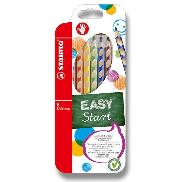 Pastelky Stabilo EASYcolors 6 barev, pro praváky Stabilo