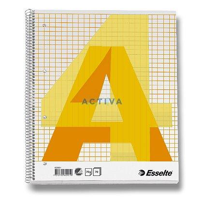 Obrázok produktu Esselte - krúžkový blok - A4, 70 l., štvorčekový