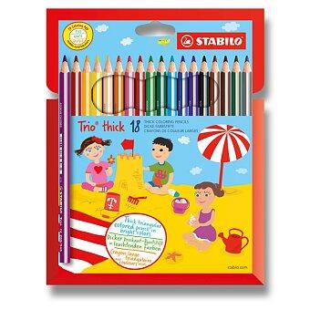 Obrázek produktu Pastelka Stabilo Trio - 18 barev