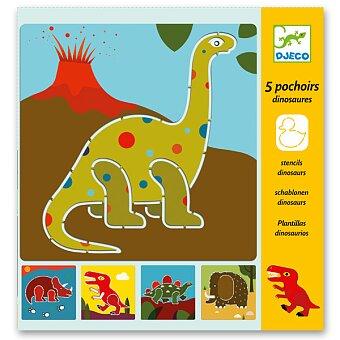 Obrázek produktu Šablony Djeco - Dinosauři