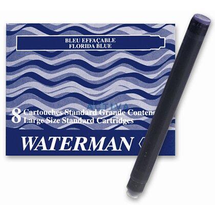 Obrázek produktu Waterman - inkoustové standardní  bombičky - modročerné, 8 ks